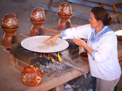 Tortillas a mano - Tour Safari en Camello