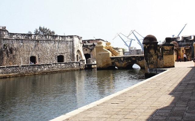 San Juan de Ulúa en Tranvía, fue construido en la época de Hernán Cortés