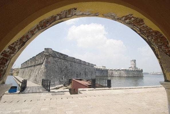 San Juan de Ulúa en Tranvía en Veracruz