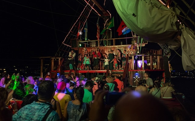 Show Pirata Cancún Jolly Roger, una experiencia inolvidable