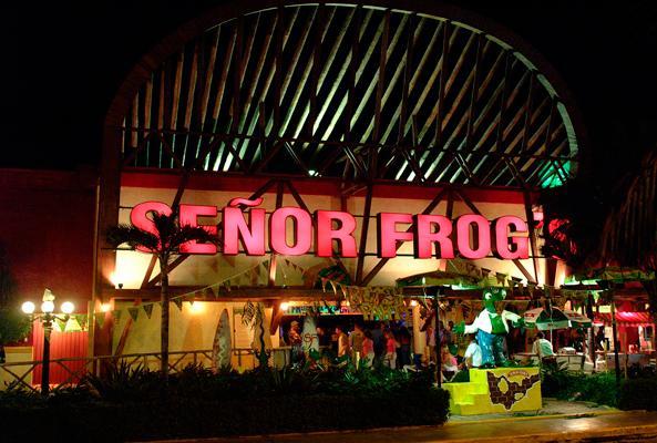Señor Frogs Cancún en Cancún