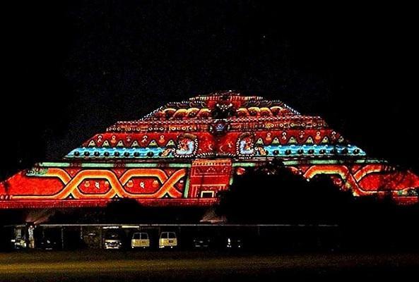 Teotihuacán de Noche en Ciudad de México