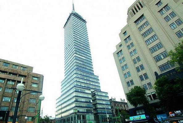 Torre Latinoamericana y miradores de la ciudad en Ciudad de México