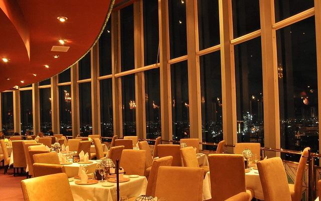Torre Latinoamericana y miradores de la ciudad,  conoce un restaurante giratorio ubicado en el piso 45