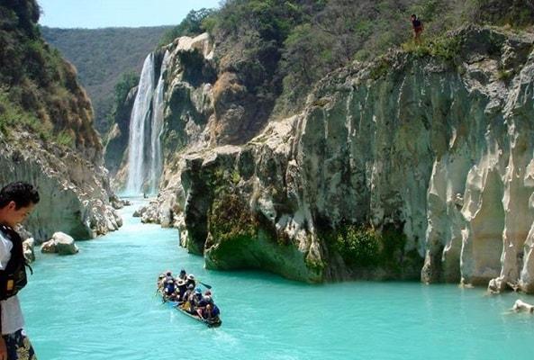 Tour a Cascada de Tamul y Cueva de Agua en San Luis Potosi
