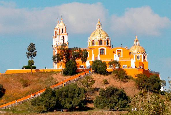Cholula Sagrada en Puebla