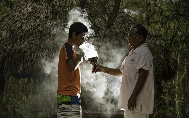 Tour a Cobá y Comunidad Maya con Actividades Extremas, participarás en una ceremonia maya