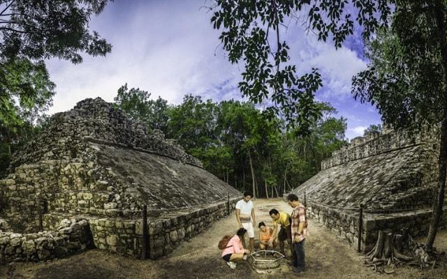 Tour a Cobá y Comunidad Maya con Actividades Extremas, conoce el lugar del Juego de Pelota