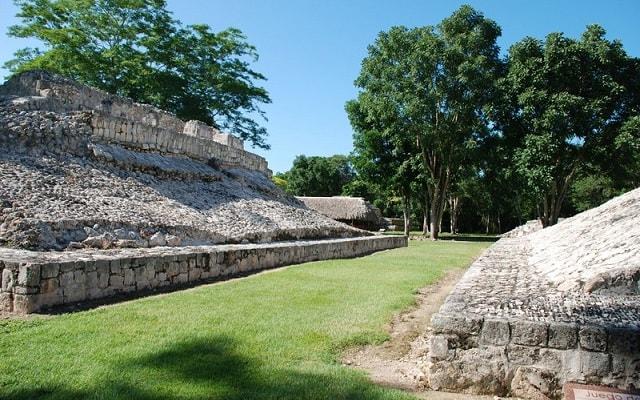 Tour a Edzná Zona Arqueológica, juego de pelota