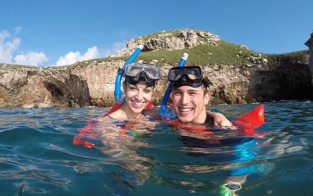 Tour a Isla Marietas y Playa Escondida, podrás practicar snorkel