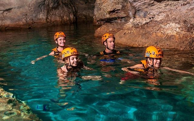 Tour a Parque Xplor Riviera Maya, disfruta del agua cristalina