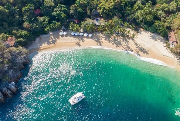 Tour a Playa Yelapa y Playa Majahuitas en Puerto Vallarta