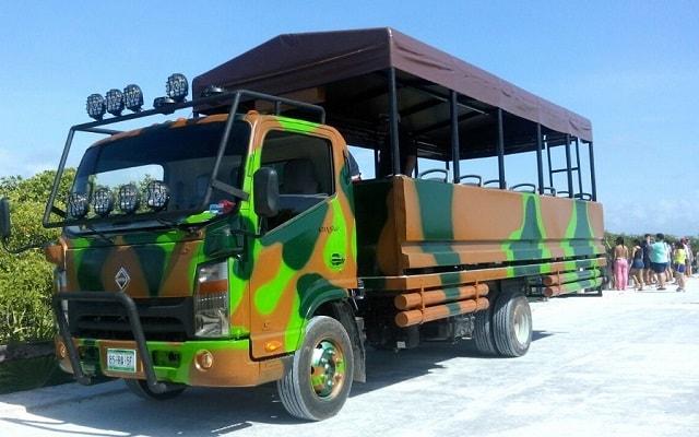 Tour a Sian Ka'an, cuenta con camionetas muy seguras