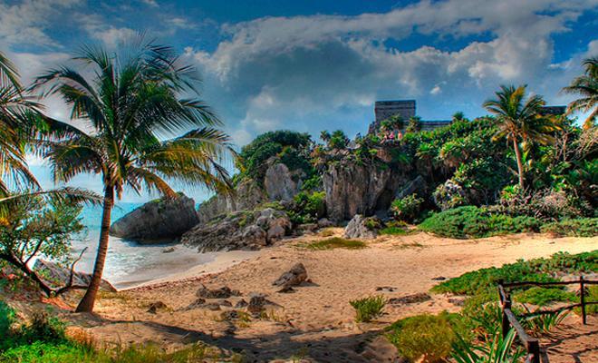 Tour a Tulum, Coba, Cenote La Gloria y Playa del Carmen