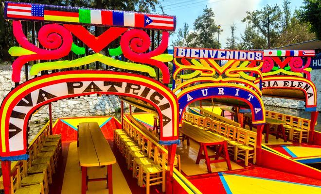Tour a Xochimilco, Ciudad Universitaria y Coyoacán