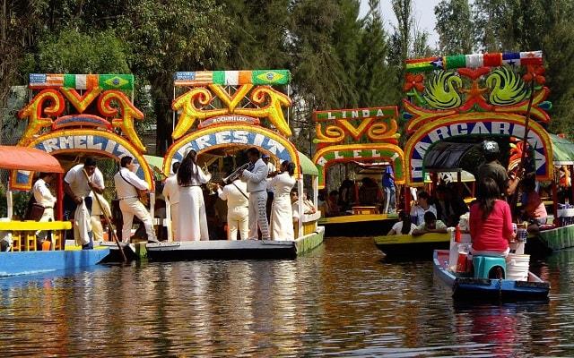 Tour a Xochimilco, Ciudad Universitaria y Coyoacán, Patrimonio de la Humanidad