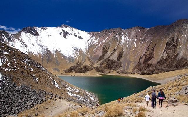 Tour al Nevado de Toluca, en algunas temporadas es posible encontrar nieve
