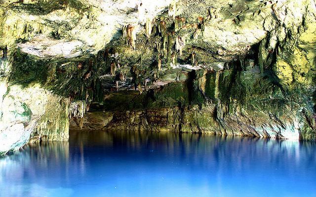 Observa las hermosas formaciones rocosas