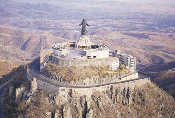Cristo Rey Cerro del Cubilete en Guanajuato