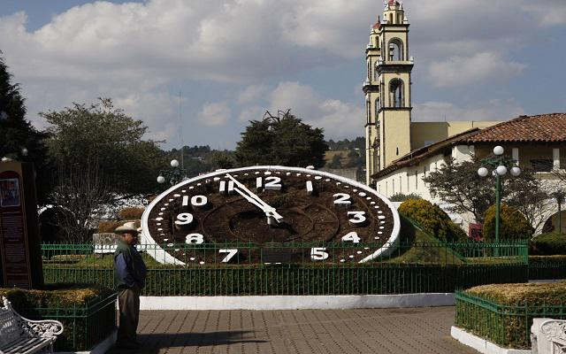 Reloj de flores de Chignahuapan