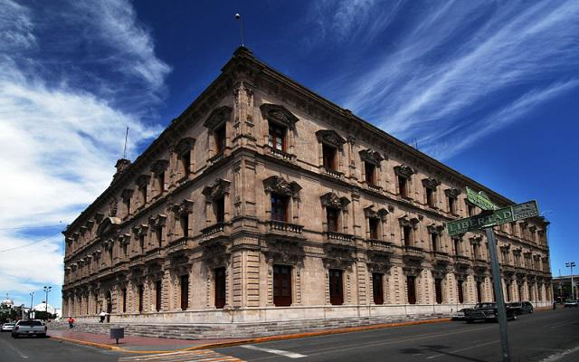 El Palacio de Gobierno de Chihuahua