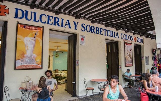Tour de Comida Yucateca, Heladería Colón con 100 años de tradición