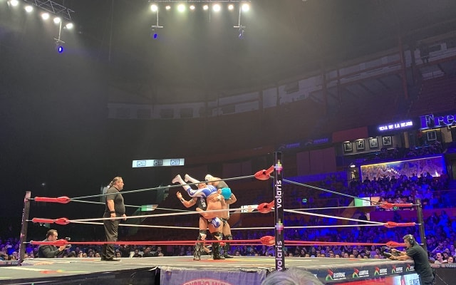 Tour de Lucha Libre en la Arena México, magia en el ring