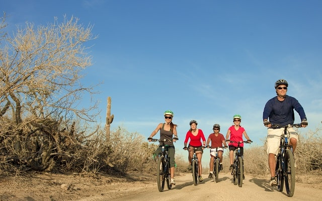Tour en Bicicleta de Montaña por el Desierto de la Baja, hermosos paisajes