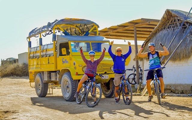 Tour en Bicicleta de Montaña por el Desierto de la Baja, para principiantes o experimentados ciclistas