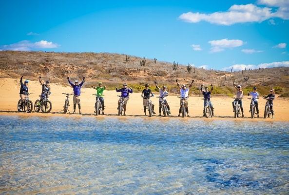 Tour en Bicicleta Eléctrica por la Playa