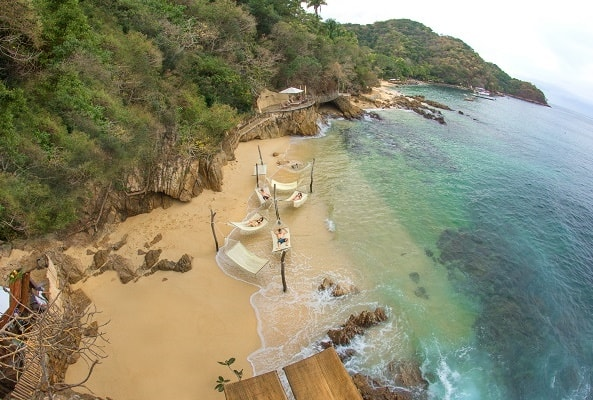Tour Familiar a Playa Las Caletas en Puerto Vallarta