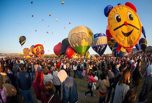 Tour Festival Internacional del Globo León en Ciudad de México