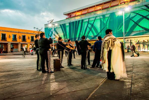 Garibaldi de Noche en Ciudad de México