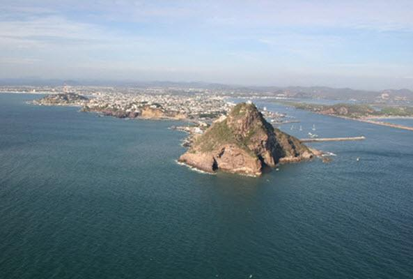 Isla de la Piedra en Mazatlán
