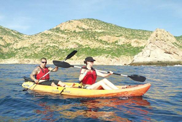 Kayak con Snorkel en Los Cabos