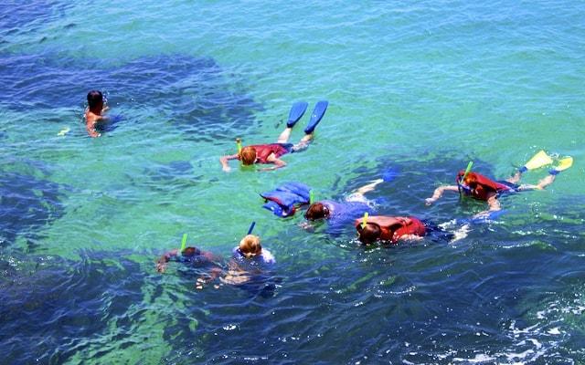 Tour por 7 Bahías de Huatulco, si lo deseas puedes practicar snorkel