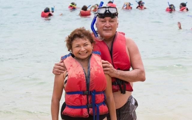 Tour por Bahías de Huatulco en Lancha, realizar snorkel será una experiencia inolvidable