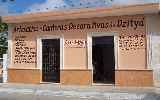 Tour por Dzibilchaltún, Puerto Progreso y Dzityá Yucatán, visitarás un lugar artesanal