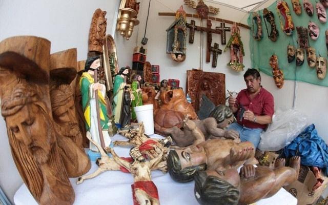 Tour por Dzibilchaltún, Puerto Progreso y Dzityá Yucatán , productos hechos de madera y cantera