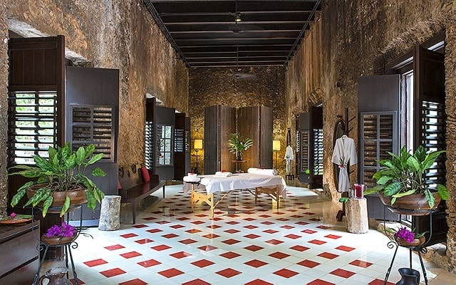 Tour por Hacienda Uayamón y Edzná, convertido en un hotel de alto Turismo