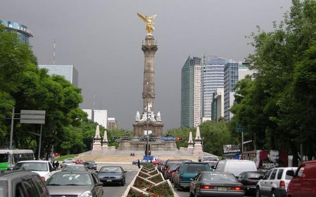 Tour por la Ciudad de México, el Paseo de la Reforma es una de las avenidas más hermosas de la ciudad