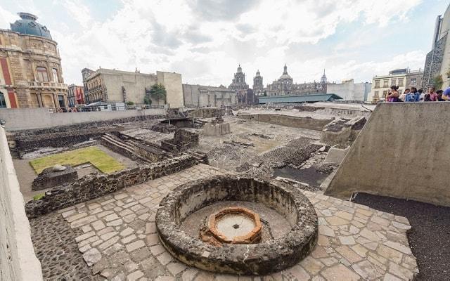 Tour por la Ciudad de México, visita panorámica Templo Mayor