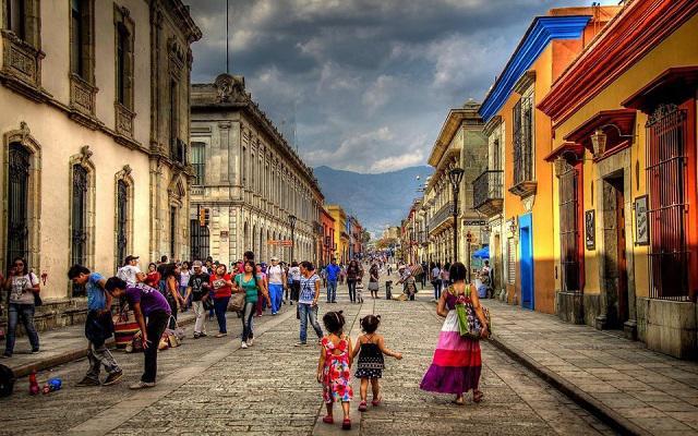 Tour por la Ciudad de Oaxaca, andador turístico