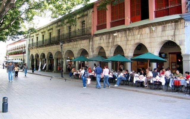 Tour por la Ciudad de Oaxaca, conoce los portales del centro de la ciudad