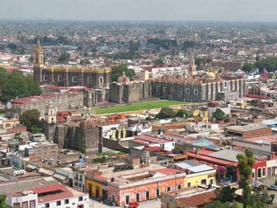 Vista de Cholula - Tour Puebla y Cholula con Almuerzo