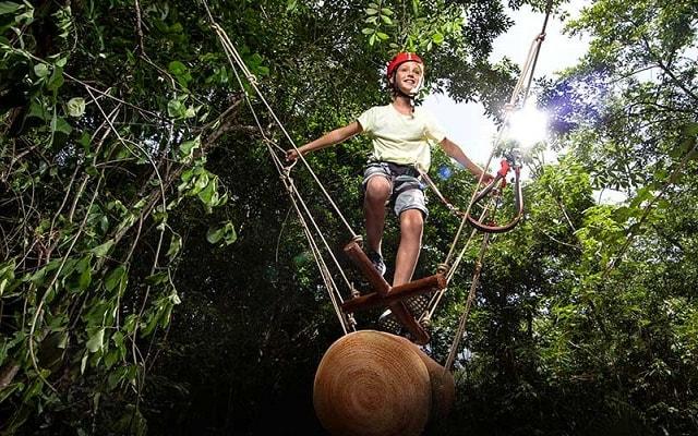 Tour Xavage by Xcaret, adrenalina pura