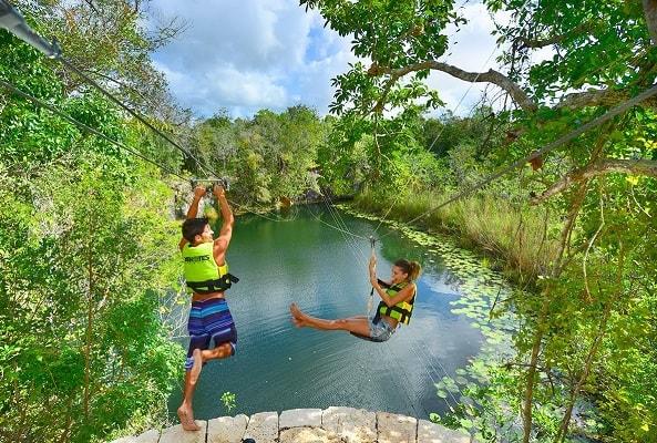 Tour Xenotes Oasis Maya en Cancún