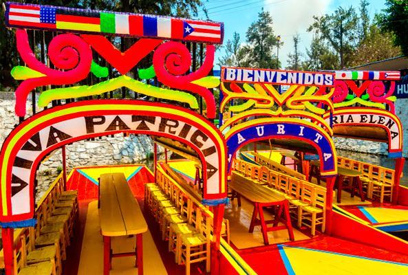Xochimilco, Ciudad Universitaria y Coyoacán