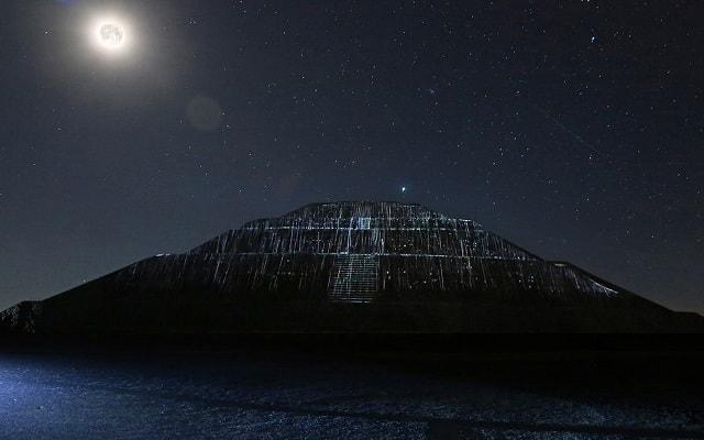 Turitour Teotihuacán de Noche, conoce los pasajes de la prehistoria