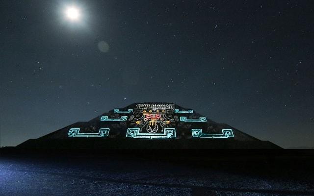 Turitour Teotihuacán de Noche, cuenta con luz y sonido de última tecnología
